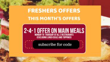 Students offers in Bristol – amazing gourmet burger deals!