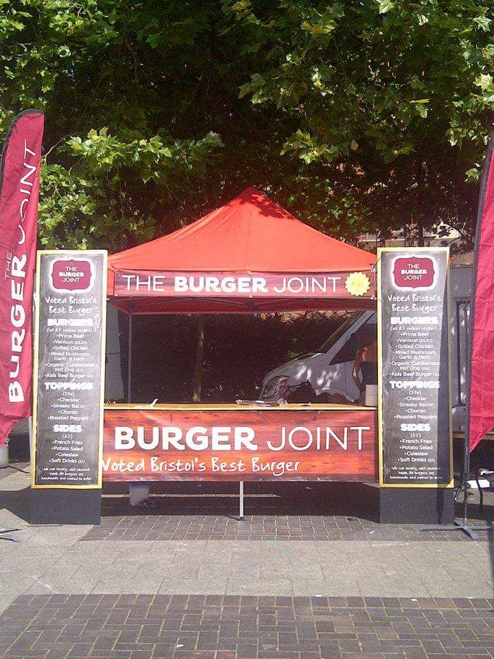 Mobile burger unit for Wedding catering and events catering