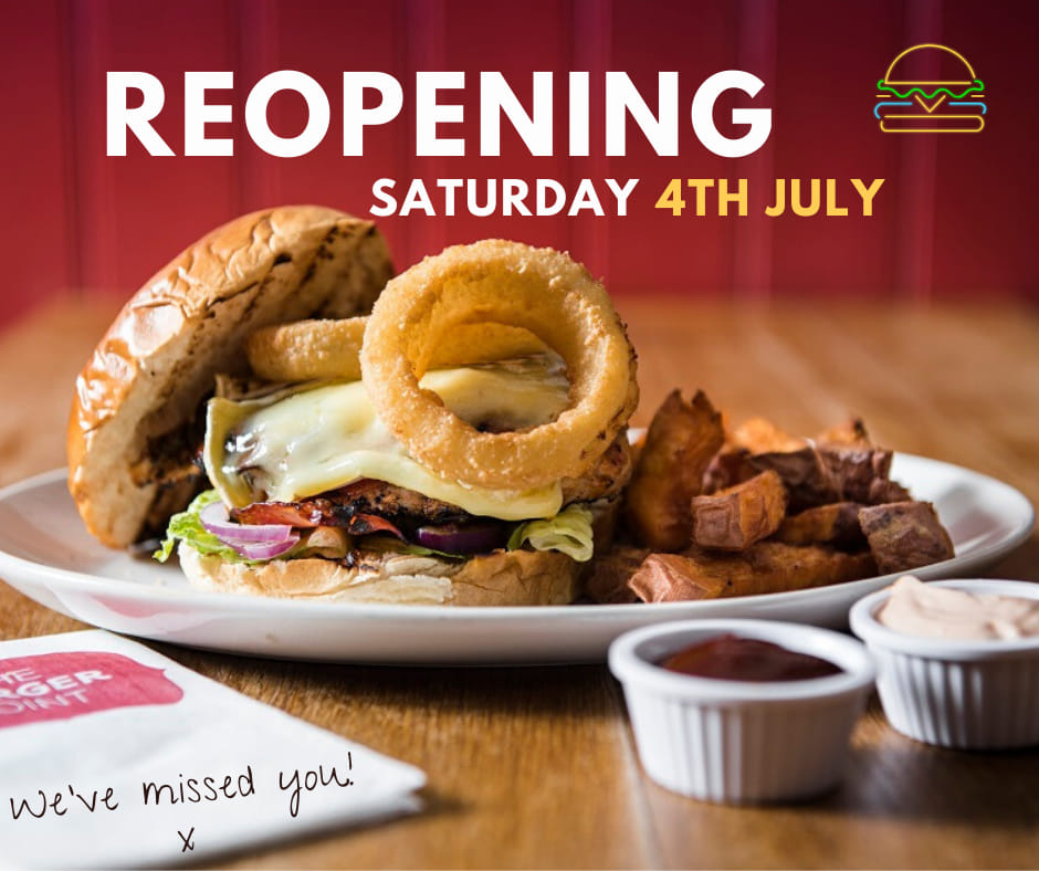 Both restaurants are reopening on July 4th!!