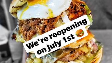 We are finally reopening on July 1st!!!